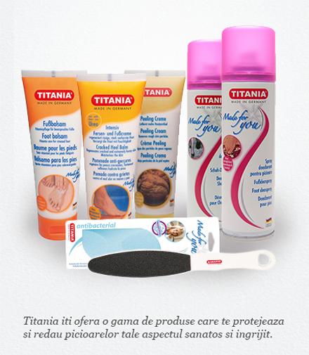produse pentru picioare Titania