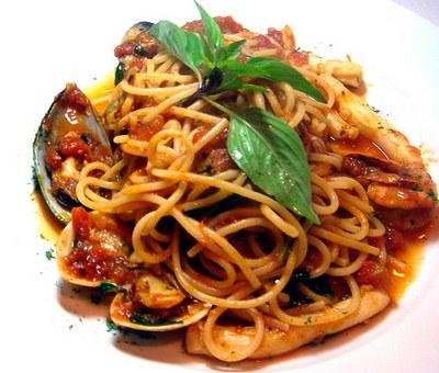 Spaghete fructe de mare
