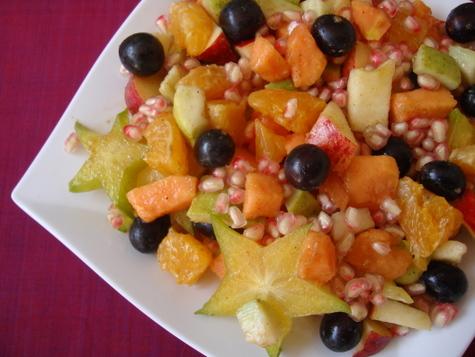 Salata de fructe usoara