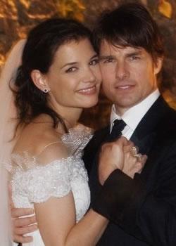 poza nunta Tom Cruise si Katie Holmes