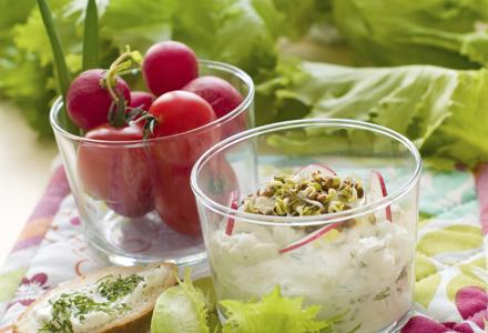 Salata de rosii cu iaurt