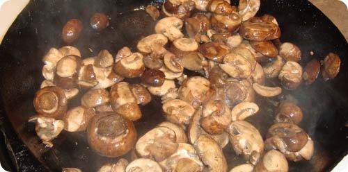 Musaca de ciuperci