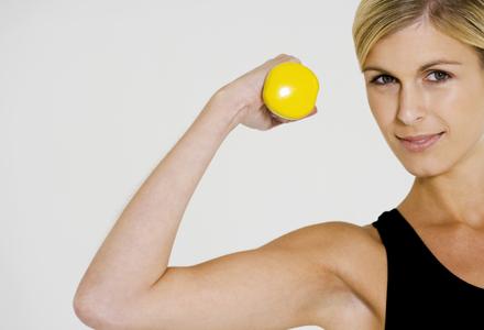exercitiu cu greutati pentru sani
