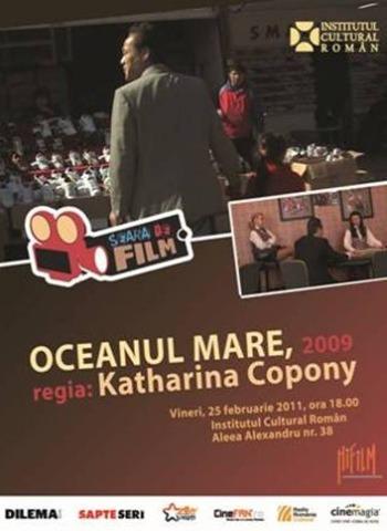 afis seara de film la institutul cultural roman