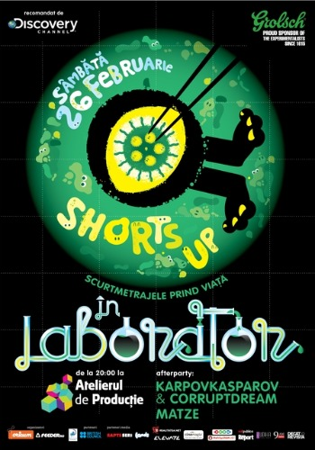 afis shorts up in laborator