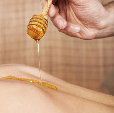 masajul cu miere slabeste