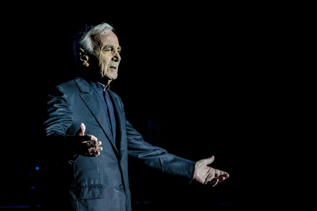 Charles Aznavour in concert 2017