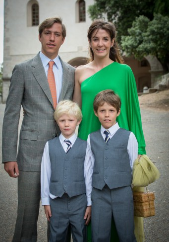 Prince Louis and Princess Tessy of Luxembourg