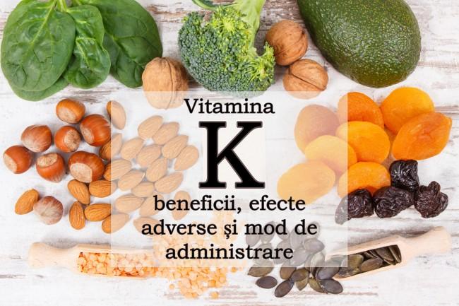 vitamina k și varicele