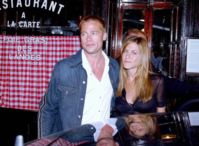 Brad Pitt si Jennifer Aniston