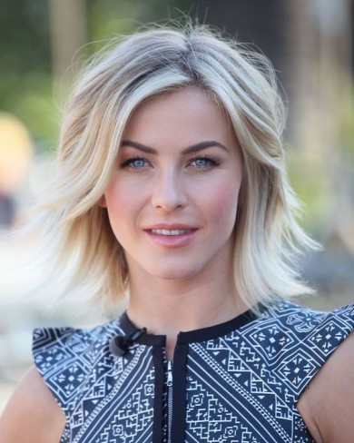 Julianne Hough tunsa bob