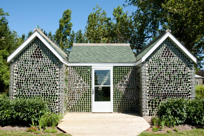 Bottle House, Cap-Egmont, Insula Prince Edward, Canada