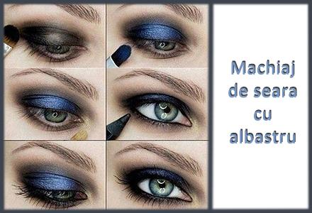 Modele De Machiaj Cu Albastru