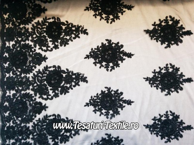 broderie 3 d neagra