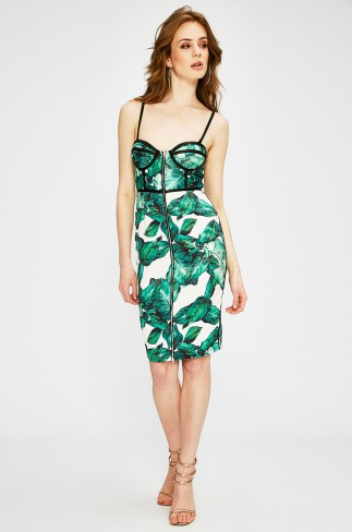 rochie print exotic