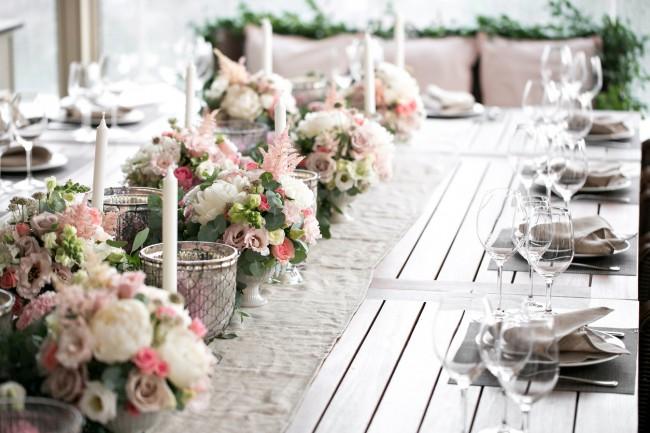 Masă la nuntă