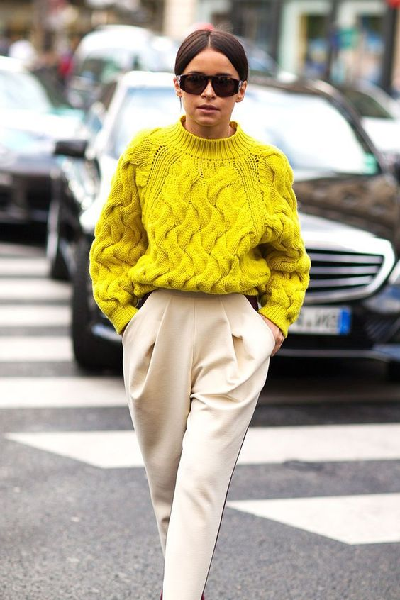 pulover galben