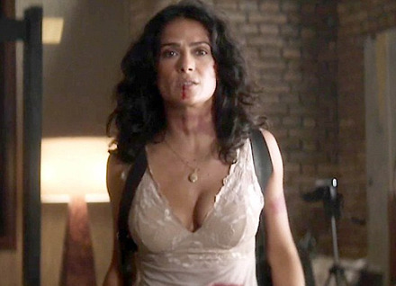 from Immanuel salma hayek naked cum