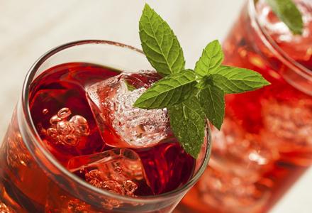 ceai de fructe rece