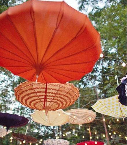 umbrele pentru petrecere