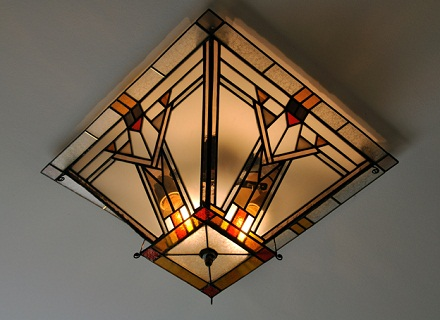 candelabru mozaic