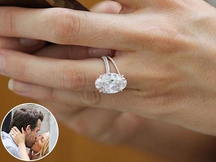 Inel de logodna Blake Lively