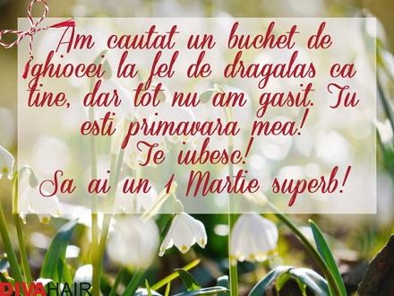 Felicitare de 1 martie