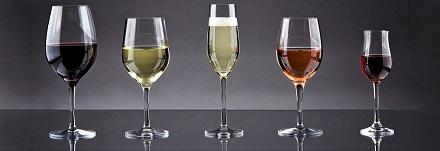 Tipuri de pahare de vin
