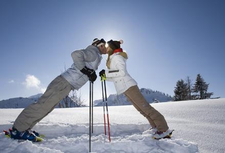 poza cuplu la ski