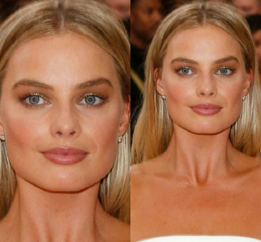 sprancene aurii margot robbie