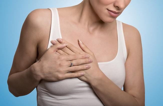 simptome cancer mamar inflamator)