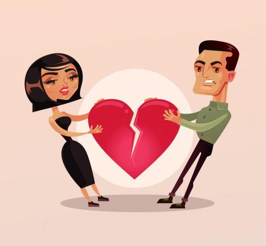 relație de cuplu despărțire