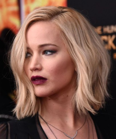Jennifer Lawrence tunsa bob