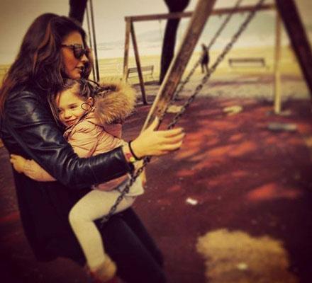 Antonia, din nou alături de fiica ei: Duminică fericită