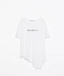 tricou asimetric