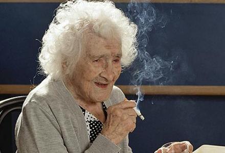 Viata cea mai lunga a avut-o o fumatoare