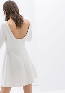 rochie alba zara