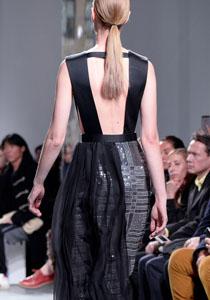 rochie cu spatele gol hugo boss