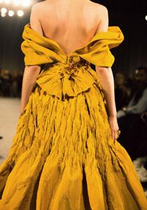 rochie galbena marchesa