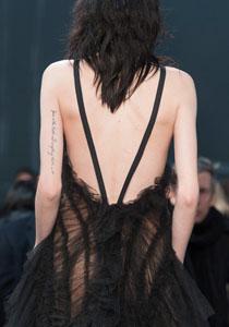 rochie cu spatele gol vera wang