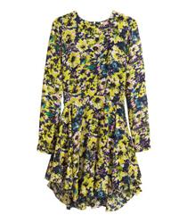 Rochie cu flori galbene