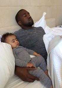 Kanye West si fiica sa