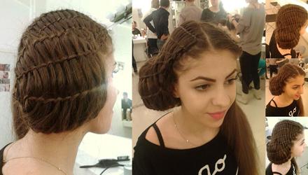 Curs de hairstyle la DallesGO