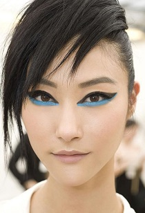 blue cat eye