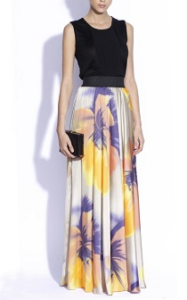 nissa maxi skirt