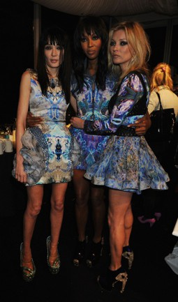 Annabelle Nielson, Naomi Campbell si Kate Moss