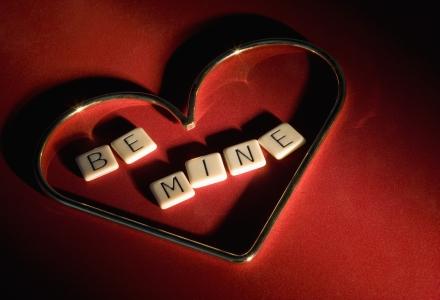 inima cu mesaj