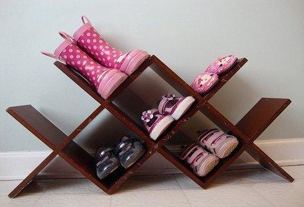 raft pentru pantofi