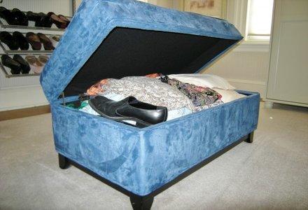 depozitare pantofi in taburet