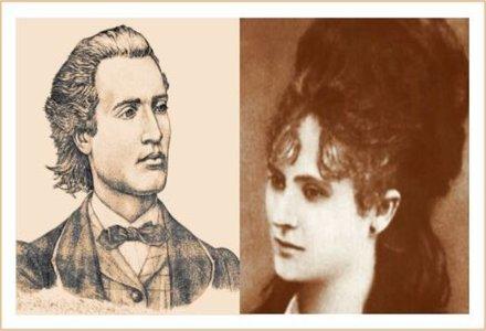 Mihai Eminescu si Veronica Miclea